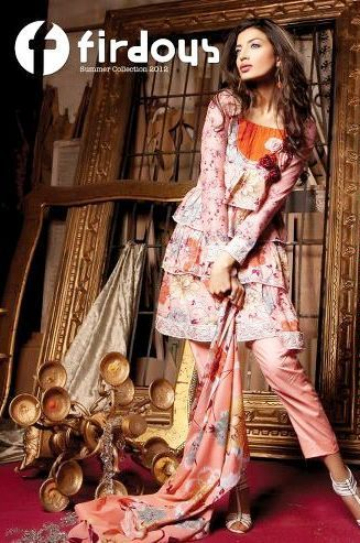 Firdous Lawn Collection 1