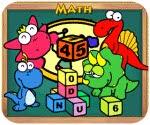 Khủng long học toán, game van phong
