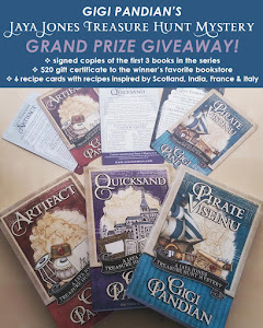 Win 3 books in Jaya Jones Mystery series