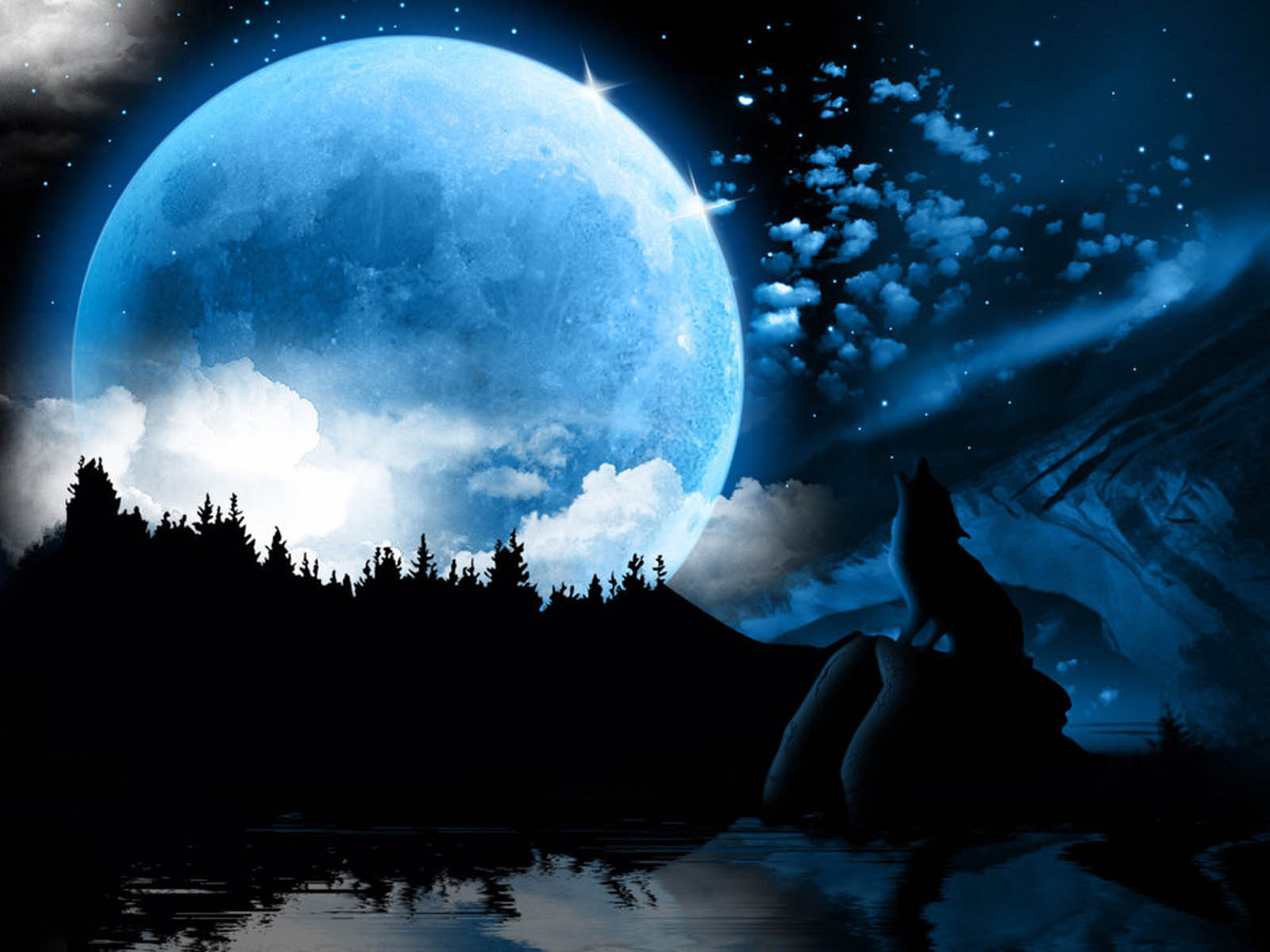 a gift of moonlight wallpaper - photo #34