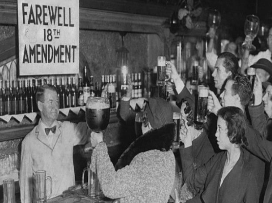 TRAVEL BACK in TIME !!! to PROHIBITION