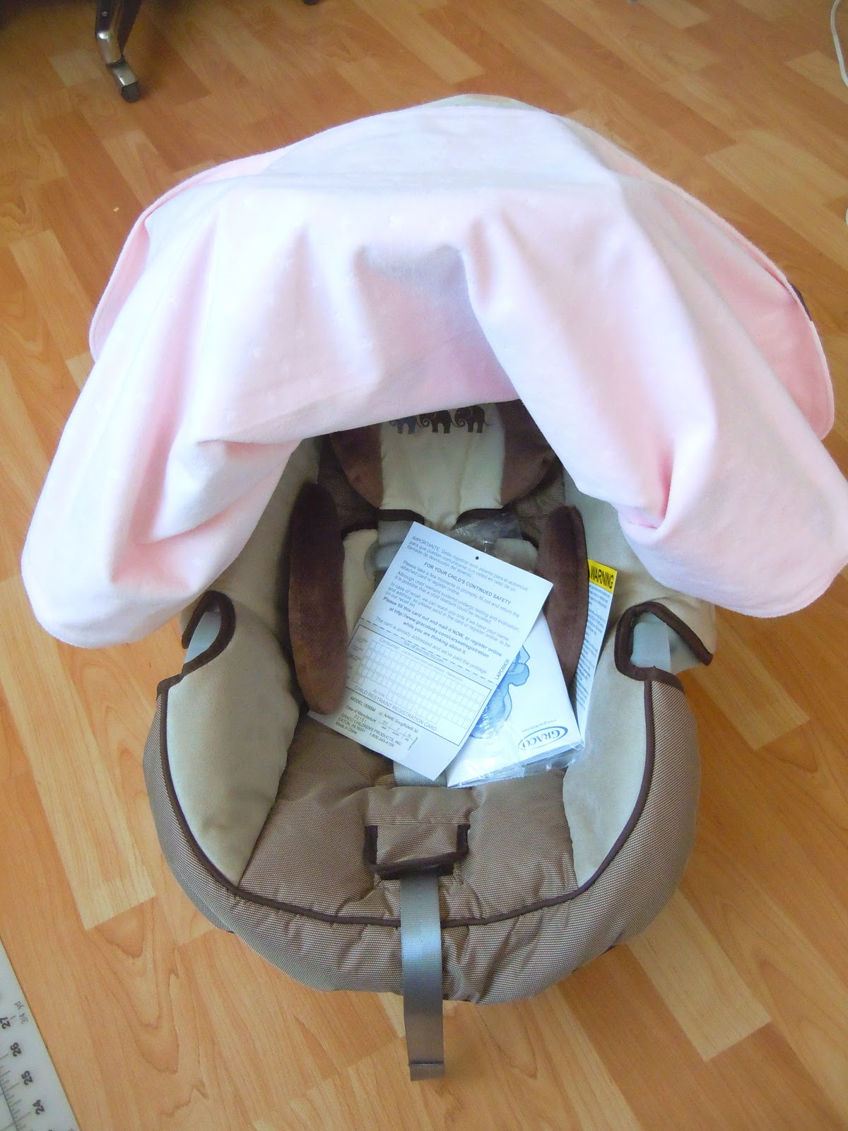 Free Sewing Pattern Tutorial Car Seat Cover From The Kids Free Dog