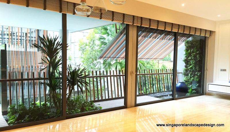 Singapore Landscape Design: Balcony in-style 12
