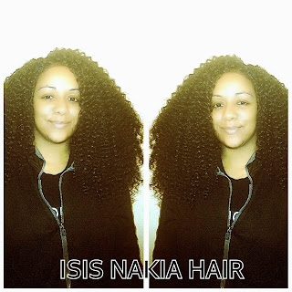 Crochet Braids in Baltimore by Isis Nakia
