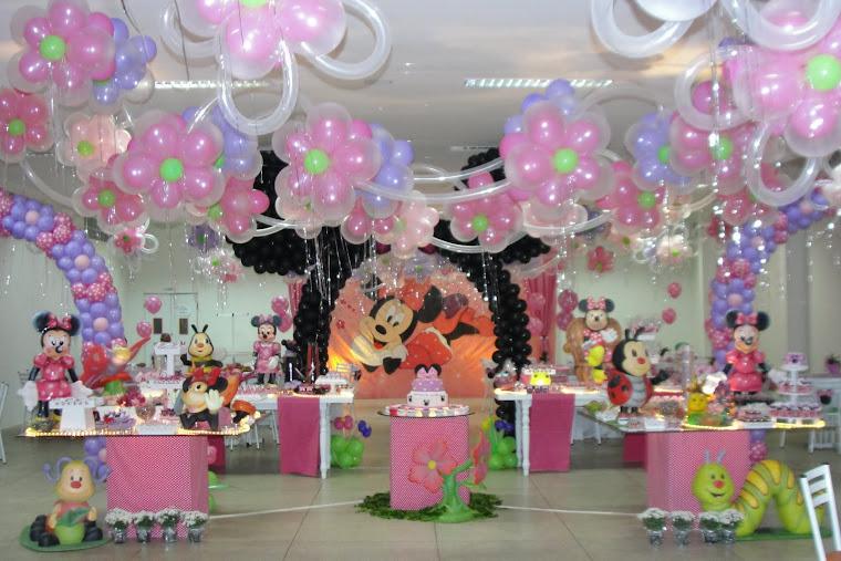 decoracao festa xuxinha:Centro De Mesa Sininho E Amigas