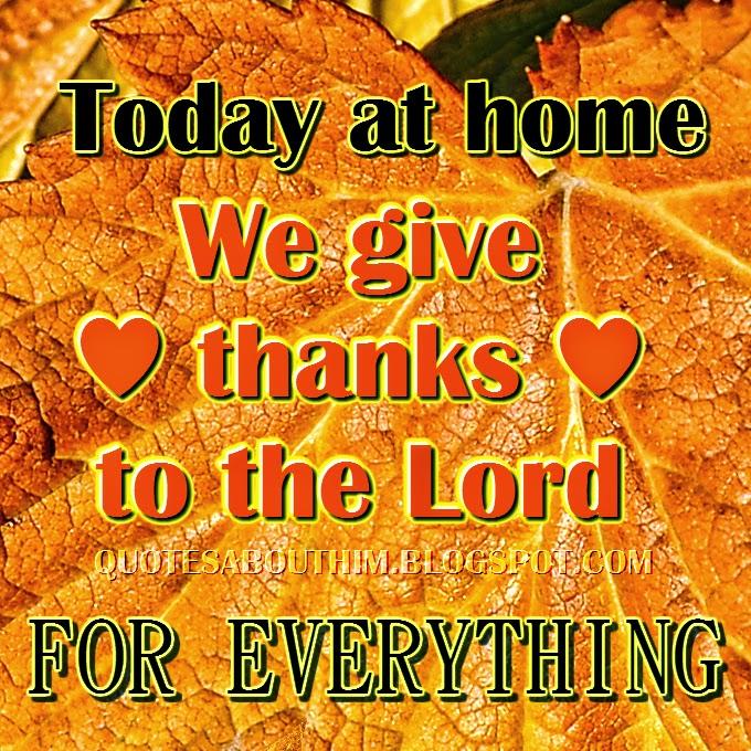 Thanksgiving crhistian card