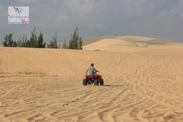 Đi xe địa hình ở Bàu Trắng, Phan Thiết