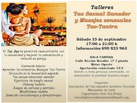 TALLER TAO SEXUAL SANADOR Y MASAJES SENSUALES TAO-TANTRA
