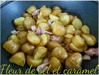 Pommes rissolées ail et herbes de Provence