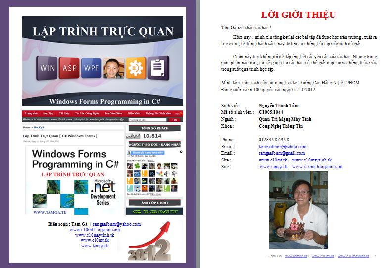 Tài Liệu Lập Trình Trực Quan C# Windows Form Full www.c10mt.com
