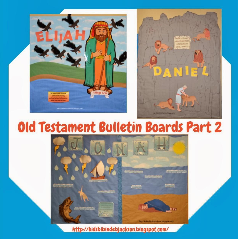 Bulletin Board Ideas 2 Year Olds: Bible Fun For Kids: Old Testament Bulletin Boards Part 2