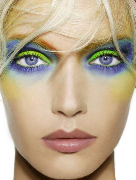 green eyes makeup - photo #36