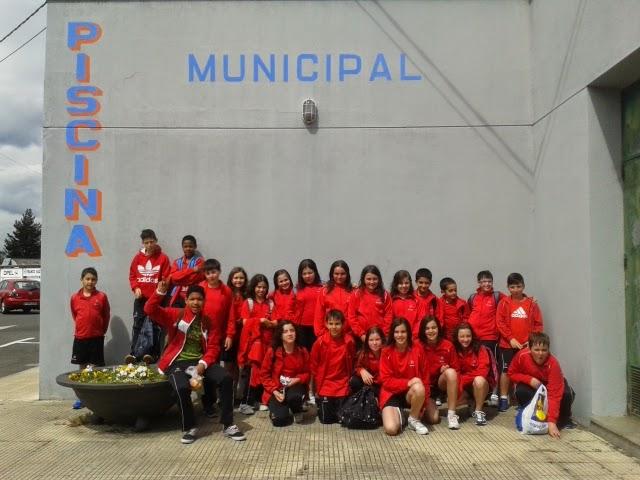 Escolapios monforte primaria grupo de piscina de 5 b for Piscina escuelas pias