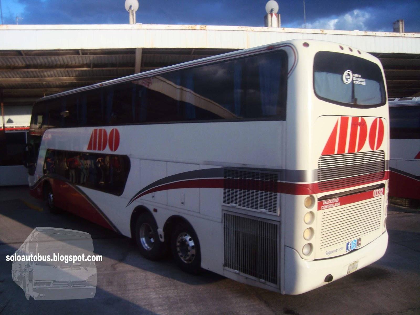 Soloautobus ado busscar panoramico dd - Autobuses de dos pisos ...
