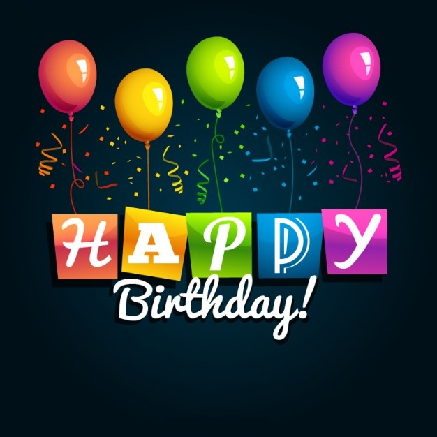 Happy Birthday Balloons Images for Whatsapp