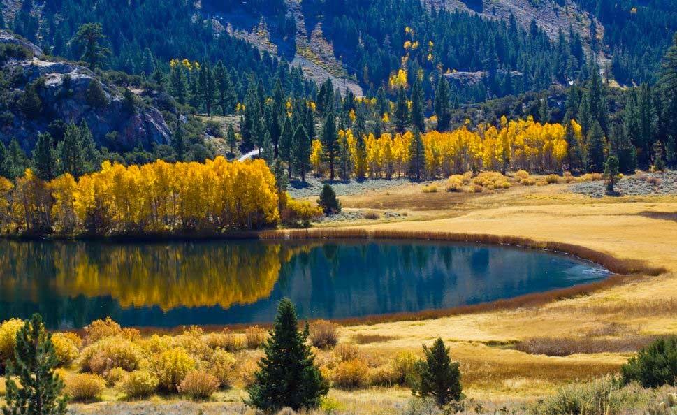 Autumn Lake Natural Wallpapers