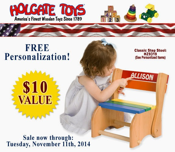 Veterans' Day Sale at Holgate Toys