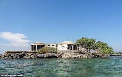 Casa abandonada de Pablo Escobar