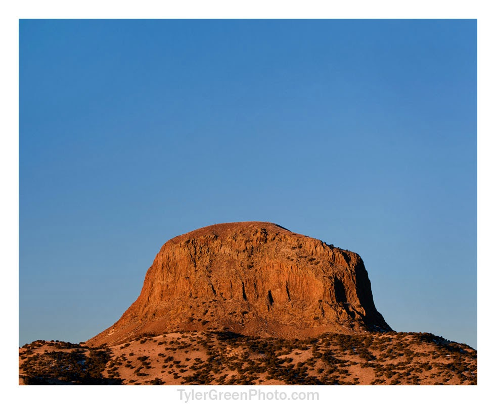Cabazon Peak, New Mexico (detail)