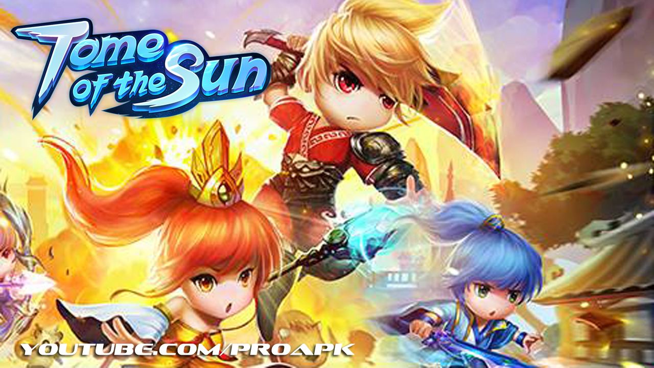 Tome of the Sun Gameplay IOS / Android