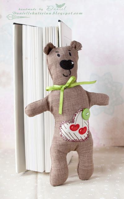 игрушка+медведь+ручная работа