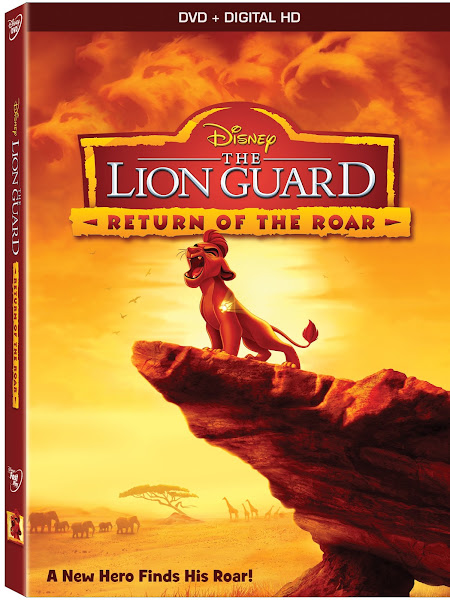 Poster of The Lion Guard Return Of The Roar 2015 1080p Hindi WEB-DL Dual Audio