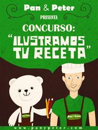 Concurso: Ilustramos tu receta de Pan & Peter