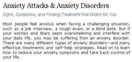best dating with anxiety disorders treatment