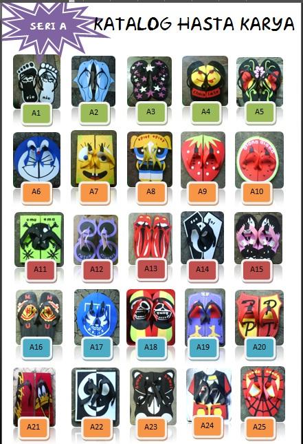 Kie: Iklan ah : Katalog sandal seri A