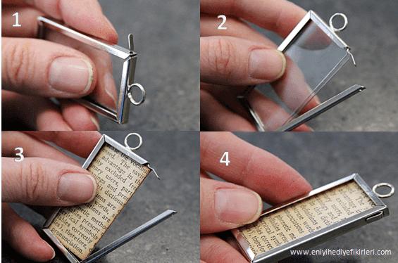 El yapımı kolye