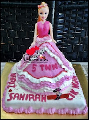 Birthday Cake~Princess Steam Buttercream