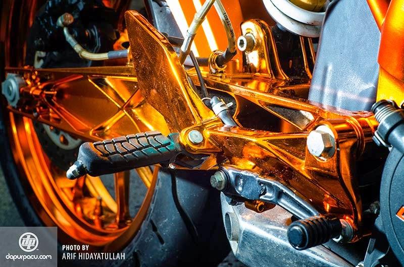 Modifikasi Motor KTM Duke 200 Ala Cewek Cantik Bening