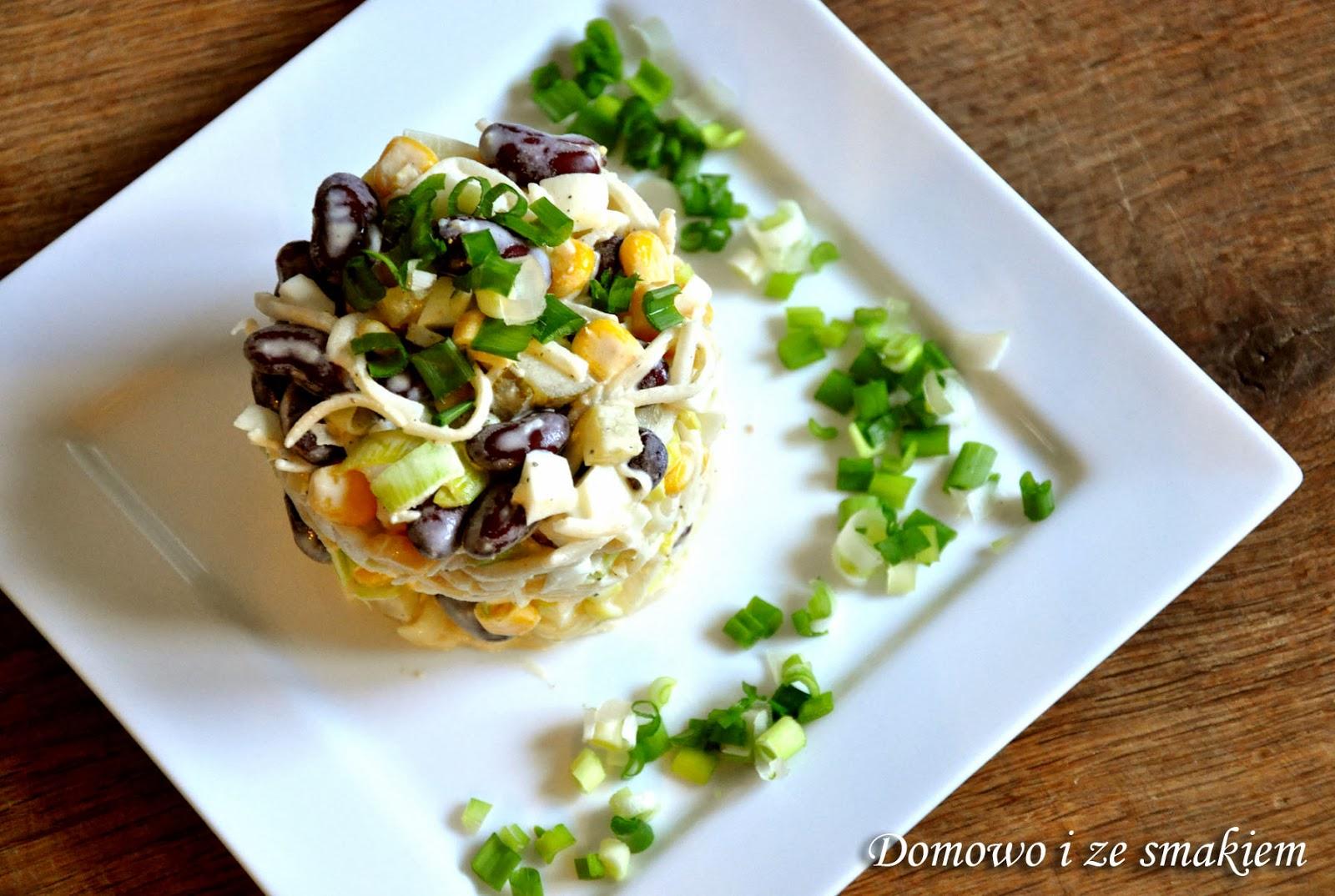 Domowo I Ze Smakiem Salatka Z Selerem Konserwowym