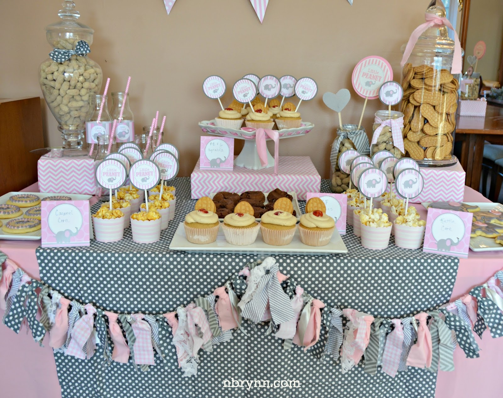 Nbrynn Little Peanut Baby Shower