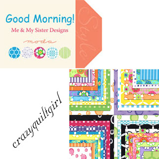 Moda GOOD MORNING Quilt Fabric by Me & My Sister Designs for Moda Fabrics