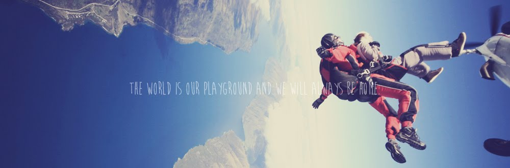 The world is our playground