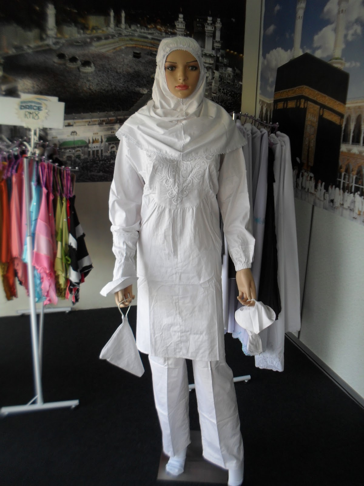 Baju Ihram Wanita Asral Enterprise Auto Design Tech