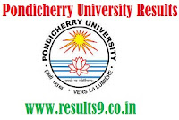 Pondicherry University B.Tech 1st and 2nd Semester Results 2013
