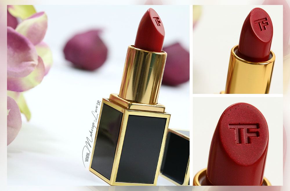 Tom Ford Lips & Boys Alejandro Lippenstift Review Swatch