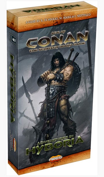 Age of Conan Strategy Board Game Advntures in Hyboria