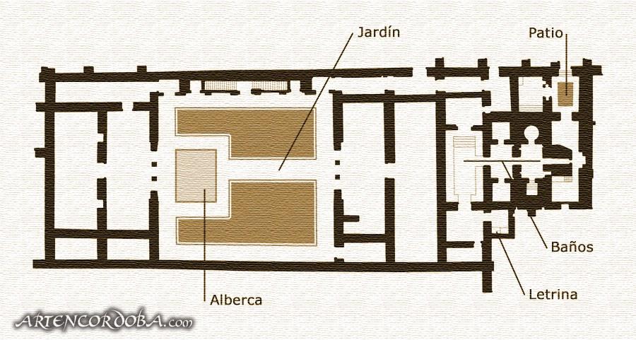 S lo para cuerdos por la arquitectura medina azahara for Plano alberca