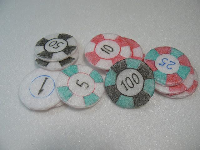 Покерные фишки своими руками 19