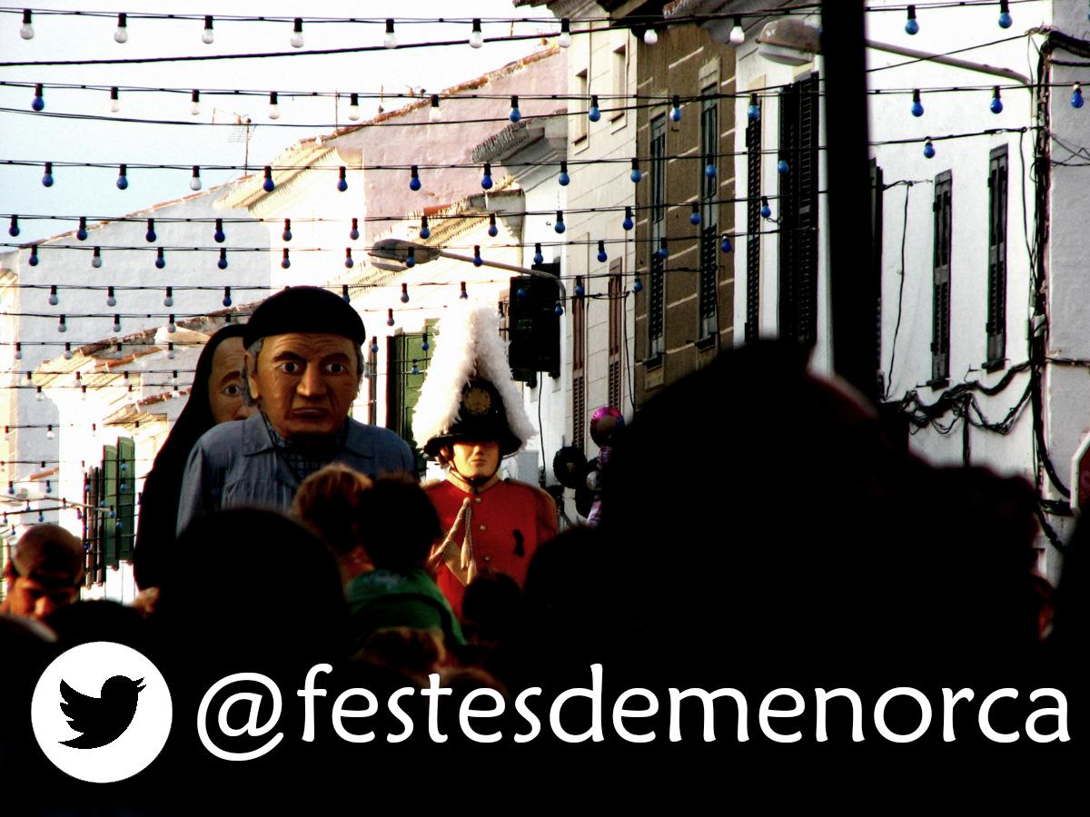 FESTES DE MENORCA - TWITTER