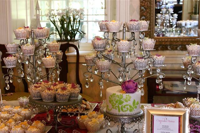 Cupcakes mesa de casamento
