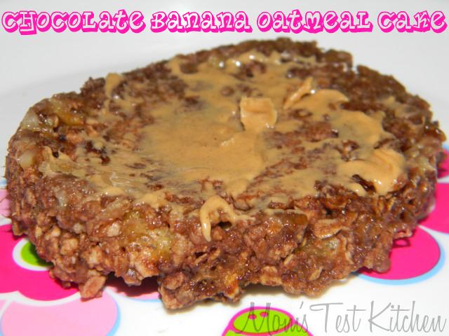 Chocolate Banana Oatmeal Cake - Mom's Test Kitchen