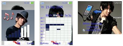 林俊傑SonyEricsson手機主題for Elm/Hazel/Yari/W20﹝240x320﹞