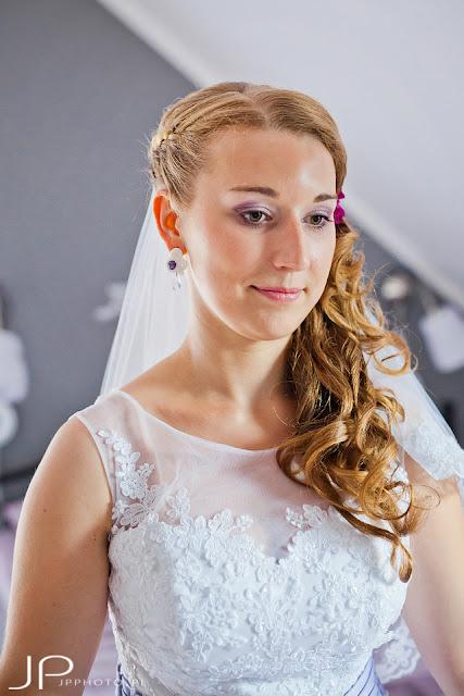 Sutasz ślubny fiolet