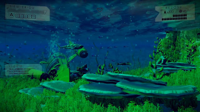No Man's Sky Preview Underwater