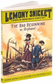 bookcover of  A SERIES OF UNFORTUNATE EVENTS: A Bad Beginning by Lemony Snicket