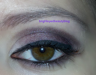 Purple and plum eye look done using the Urban Decay Smoked Palette and theBalm's Meet Matt(e) Palette.